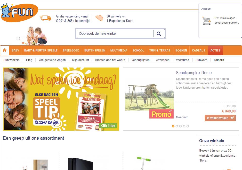 Fun-webshop